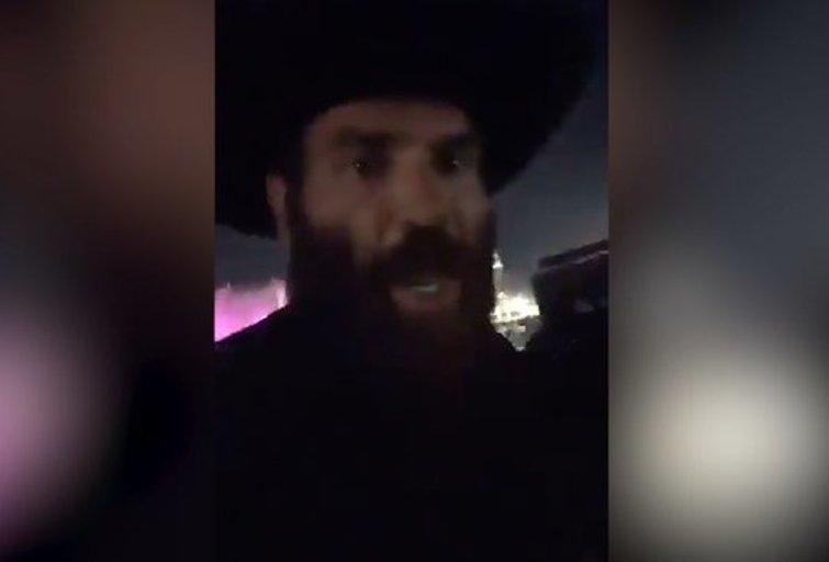 D.Bilzerianas nufilmavo, kaip bėga nuo šūvių Las Vegase (nuotr. YouTube)