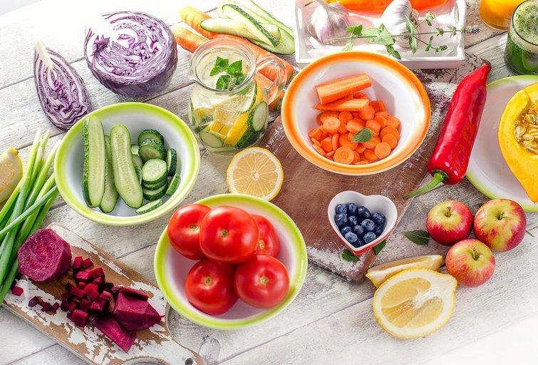 Sveikas maistas (nuotr. Fotolia.com)