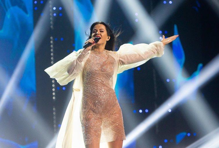 """""""Eurovizijos"""" atrankoje pasirodė Aistė Pilvelytė (Fotobankas)"""