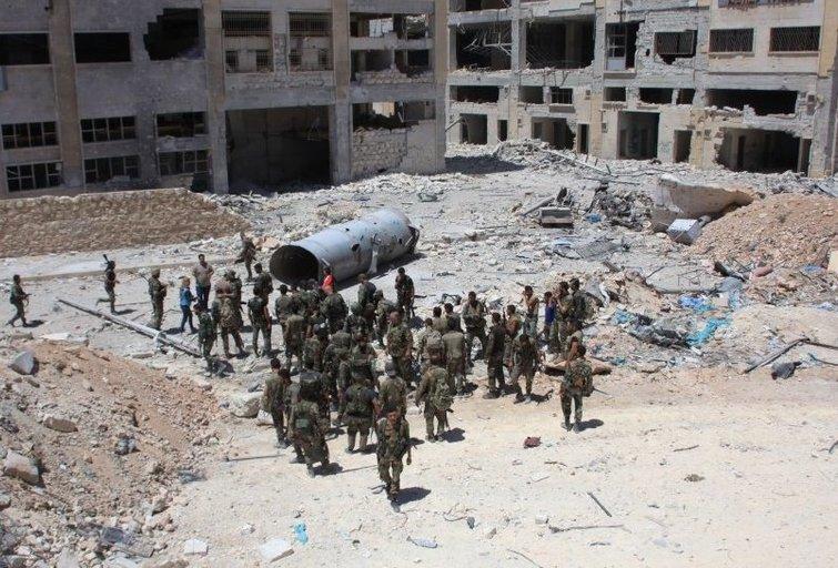 Sirijos pajėgos apsupo sukilėlius (nuotr. SCANPIX)
