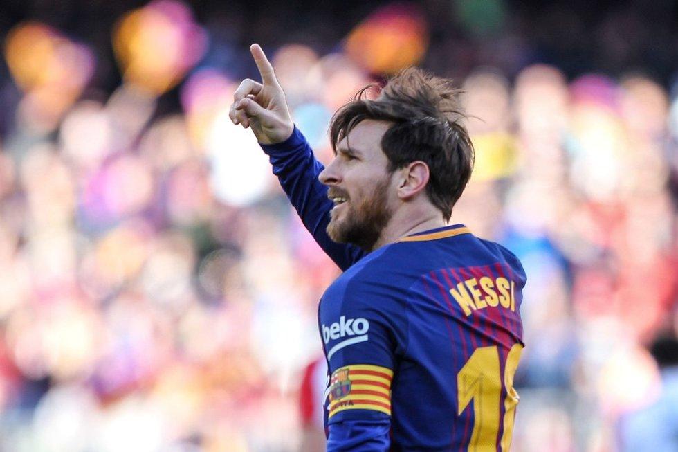 Lionelis Messi (nuotr. SCANPIX)