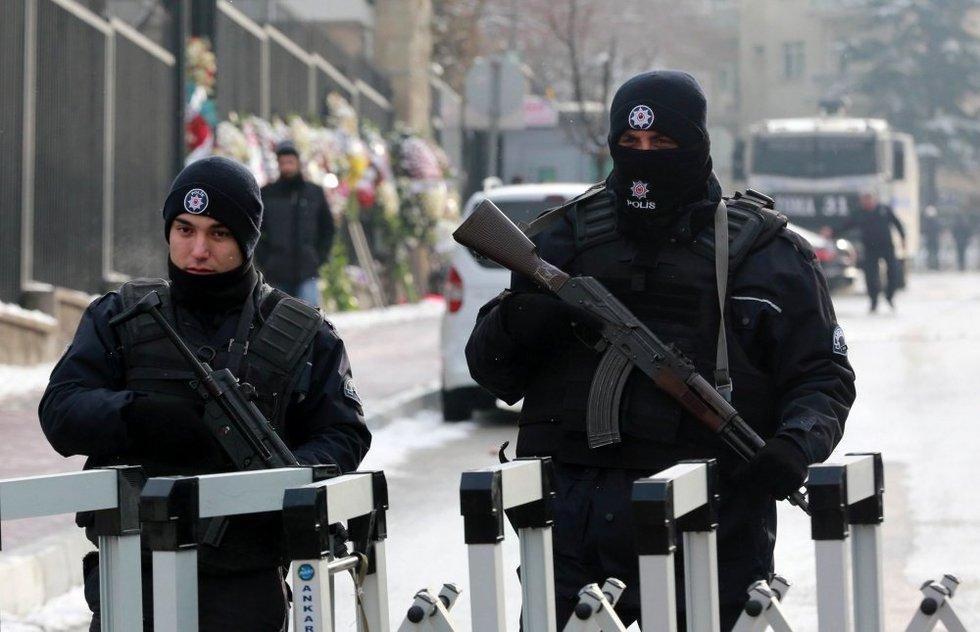 Turkijos policija (nuotr. SCANPIX)