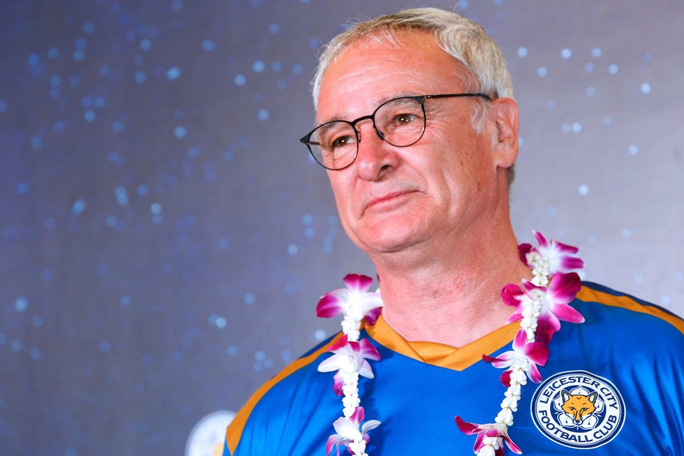 Claudio Ranieri (nuotr. SCANPIX)