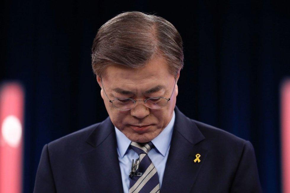 Moon Jae-inas (nuotr. SCANPIX)