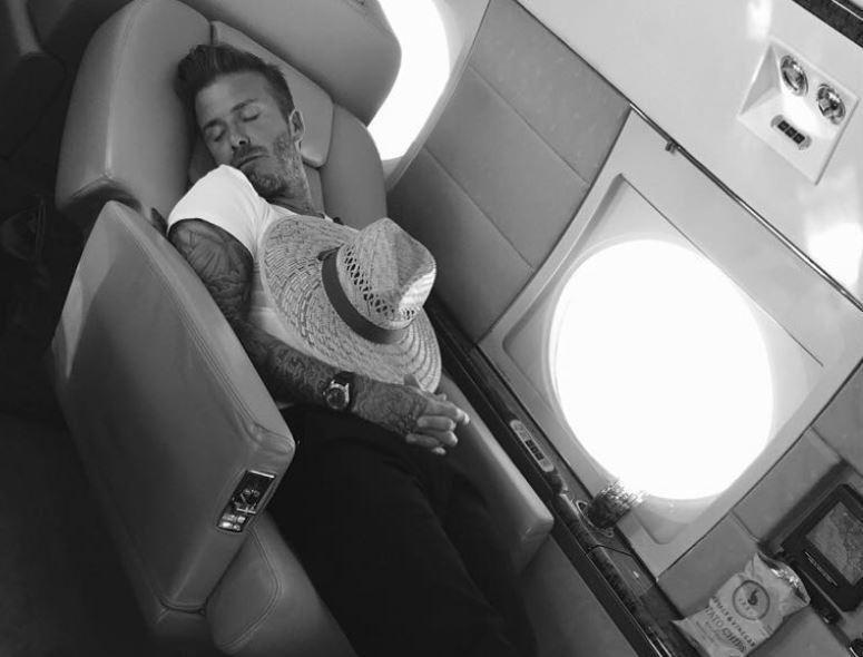 Davidas Beckhamas (nuotr. Instagram)