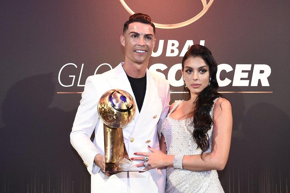 Cristiano Ronaldo ir Georgina Rodriguez