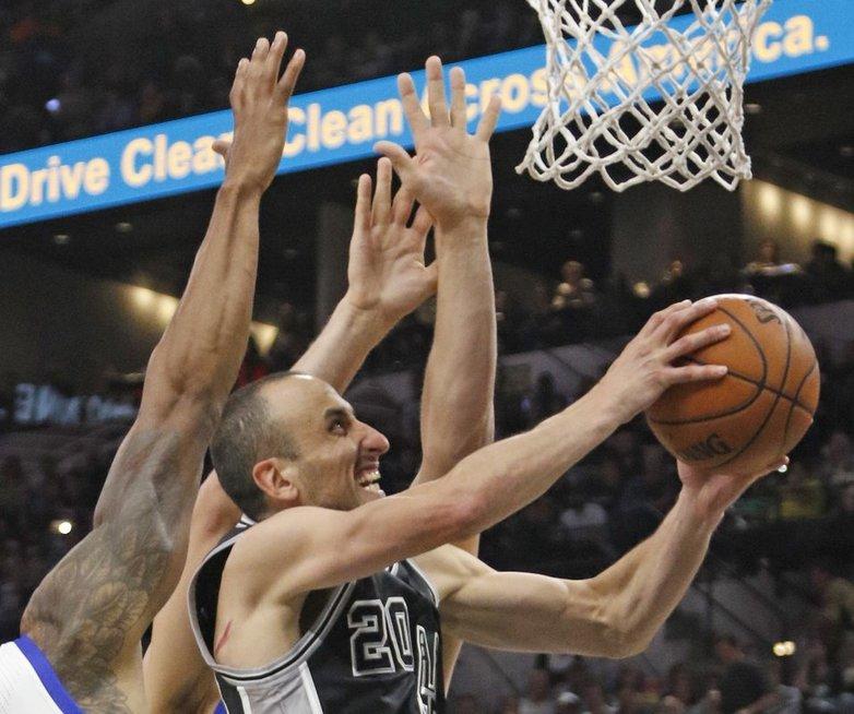 """San Antonio Spurs"" - ""Golden State Warriors""  (nuotr. SCANPIX)"