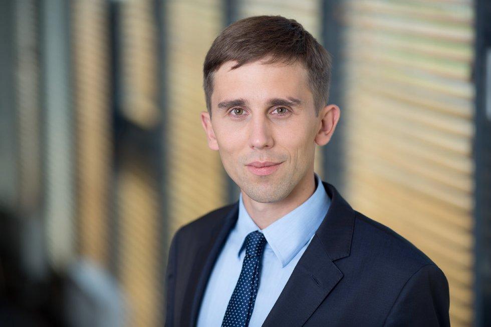 SEB banko vyriausiasis analitikas Tadas Povilauskas (nuotr. asm. archyvo)