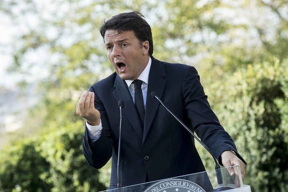 Matteo Renzi (nuotr. SCANPIX)