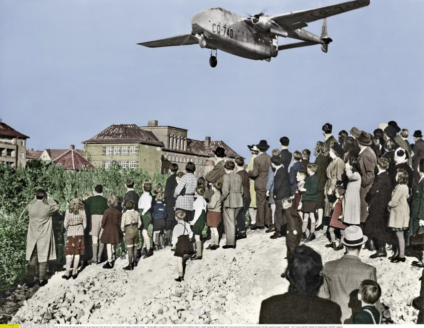 Berlyno blokada (nuotr. Vida Press)