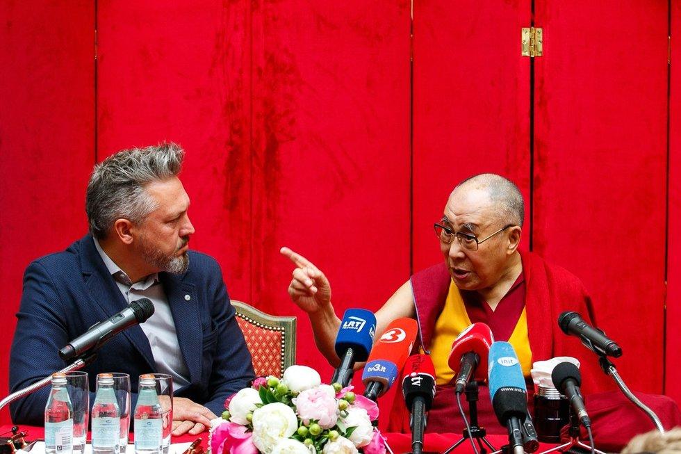 Dalai Lamos vizitas Lietuvoje (nuotr. Tv3.lt/Ruslano Kondratjevo)