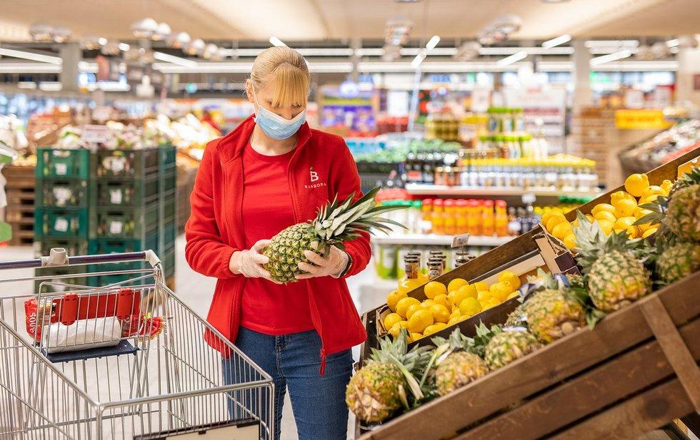 Barbora darbuotoja (bendrovės nuotr.)