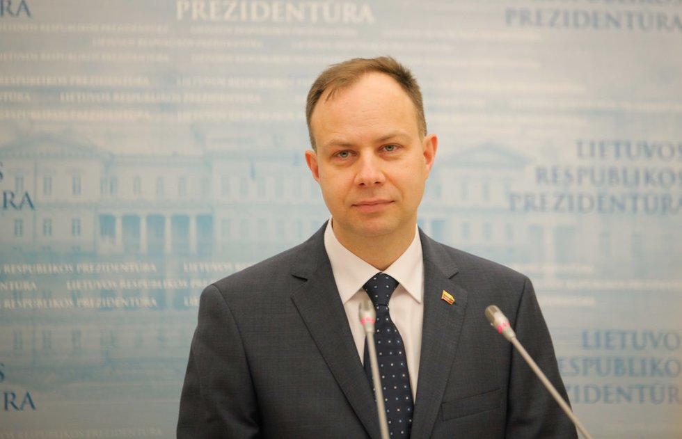 Prezidentė susitinka su pateiktu kandidatu į sveikatos apsaugos ministrus (nuotr. Fotodiena.lt)