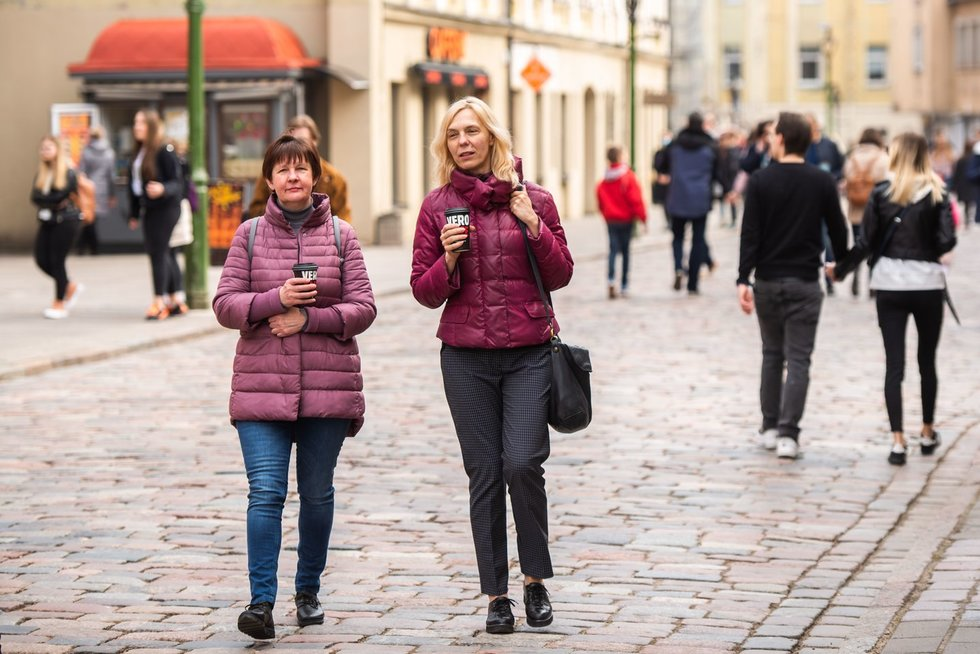 Pavasariški orai savaitgalį pakvietė gyventojus laukan: Kauno ir Vilniaus gatvės knibždėte knibždėjo