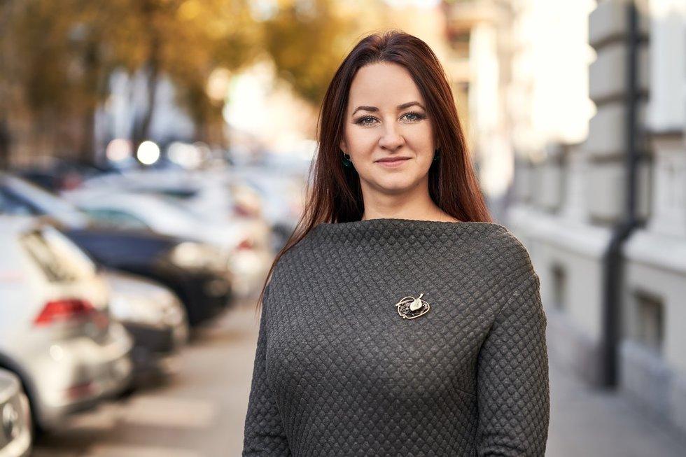 Inga Ruginienė (nuotr. Pauliaus Gvildžio)
