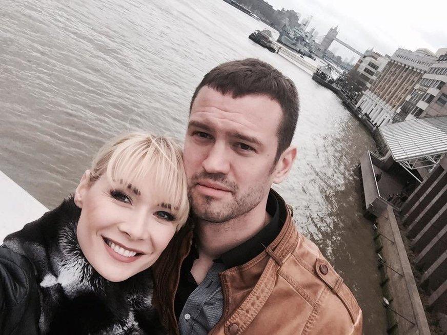 """Natalija Bunkė ir Vilmantas Dilys (nuotr. asmeninio albumo (""""Facebook"""")"""