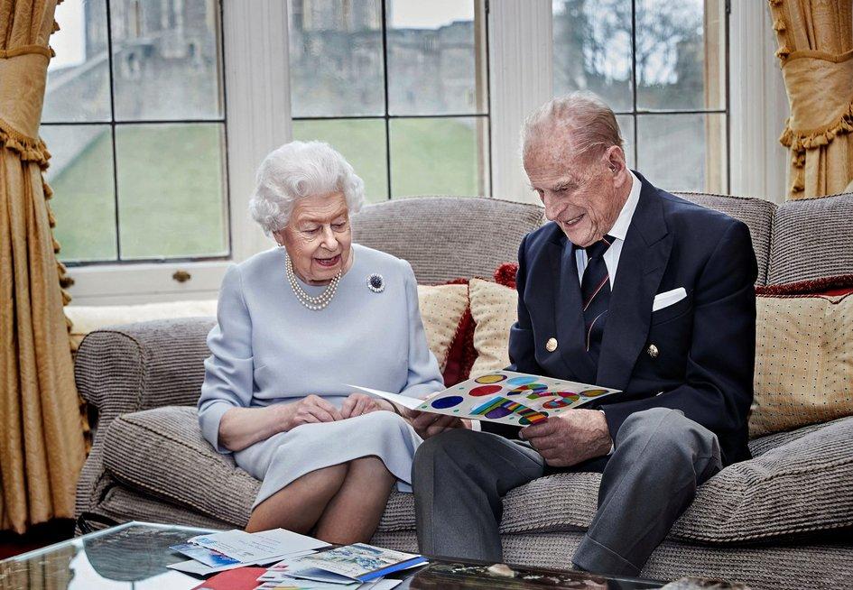 Karalienė Elžbieta II ir princas Philipas