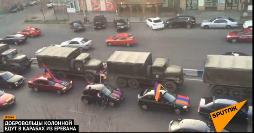 """Karti Ukrainos patirtis: į Kalnų Karabachą veržiasi """"savanoriai"""" (nuotr. Gamintojo)"""