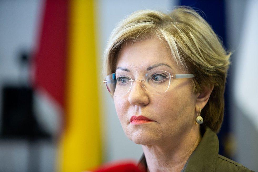 Nacionalinio visuomenės sveikatos centro Vilniaus departamento direktorė Rolanda Lingienė (nuotr. fotodiena/Justino Auškelio)