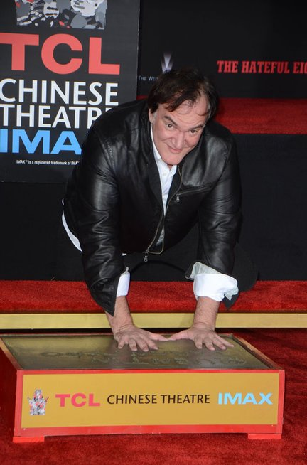 Quentinas Tarantino (nuotr. Vida Press)