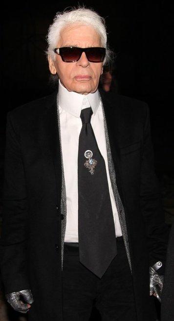 Karlas Lagerfeldas (nuotr. Vida Press)