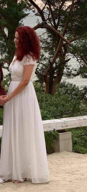 Gabrielės vestuvinė suknelė už 6 eurus