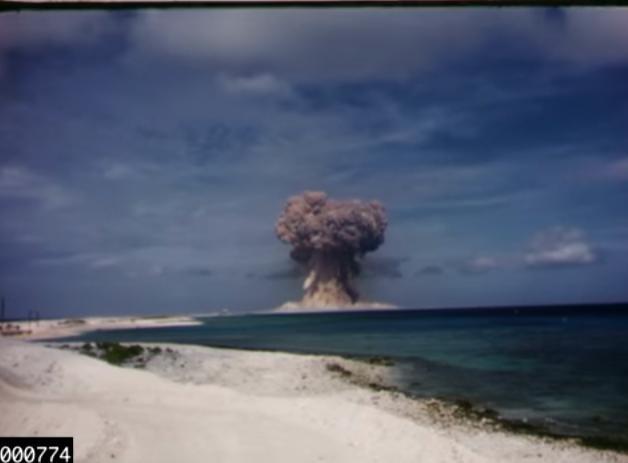 Nematyti kadrai: paviešino iki šiol tik kariškiams prieinamus branduolinių bandymų vaizdo įrašus (nuotr. Lawrence Livermore National Laboratory) (nuotr. YouTube)