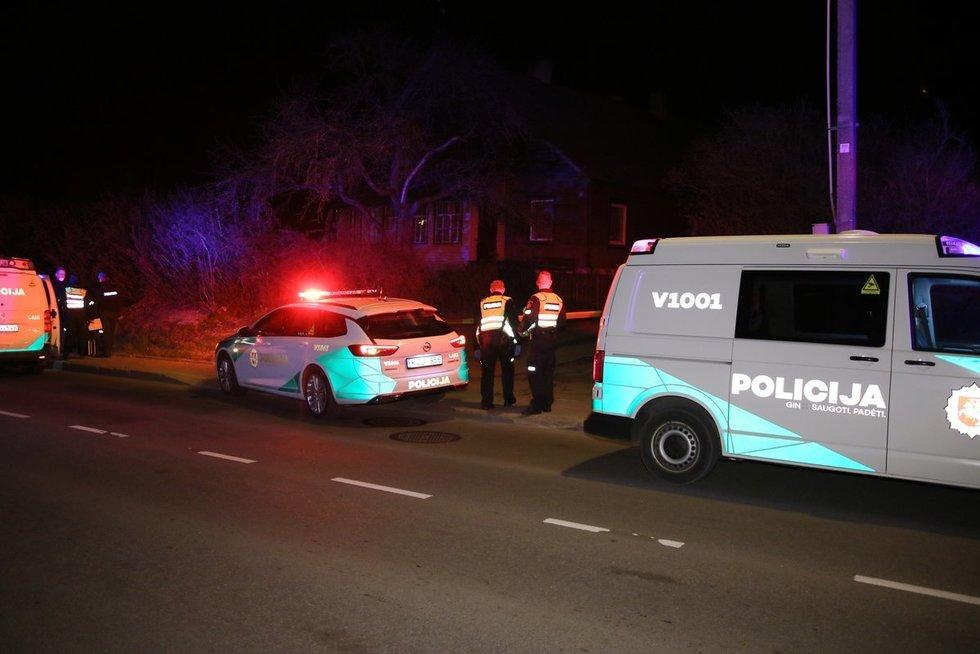 Nužudymas A.Kojelavičiaus gatvėje Vilniuje (nuotr. Broniaus Jablonsko)