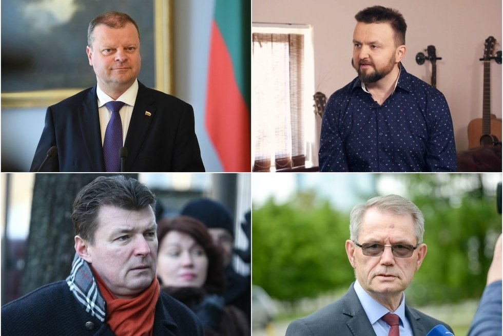 Žinomi Lietuvos vyrai, kuriuos gyvenime užklupo kraujo vėžys  (tv3.lt fotomontažas)