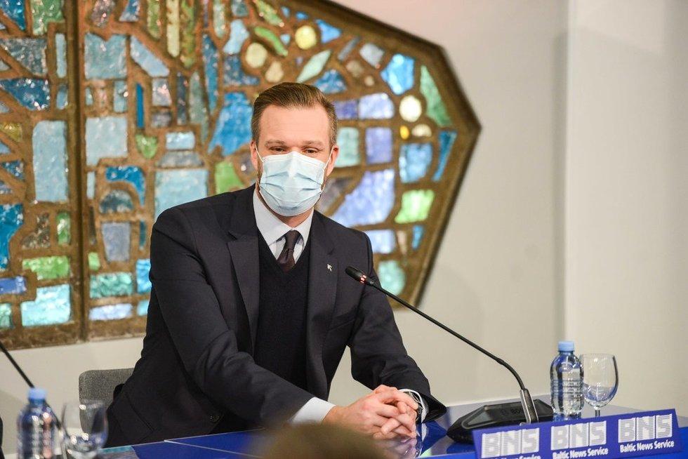 Gabrielius Landsbergis (nuotr. Fotodiena/Justinas Auškelis)