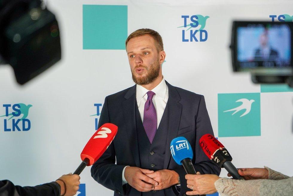 Gabrielius Landsbergis (nuotr. Fotodiena/Viltės Domkutės)