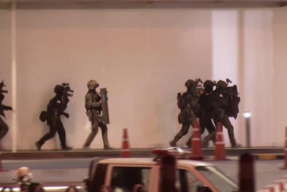 Šaudynių košmaras Tailande (nuotr. TV3 stopkadras)