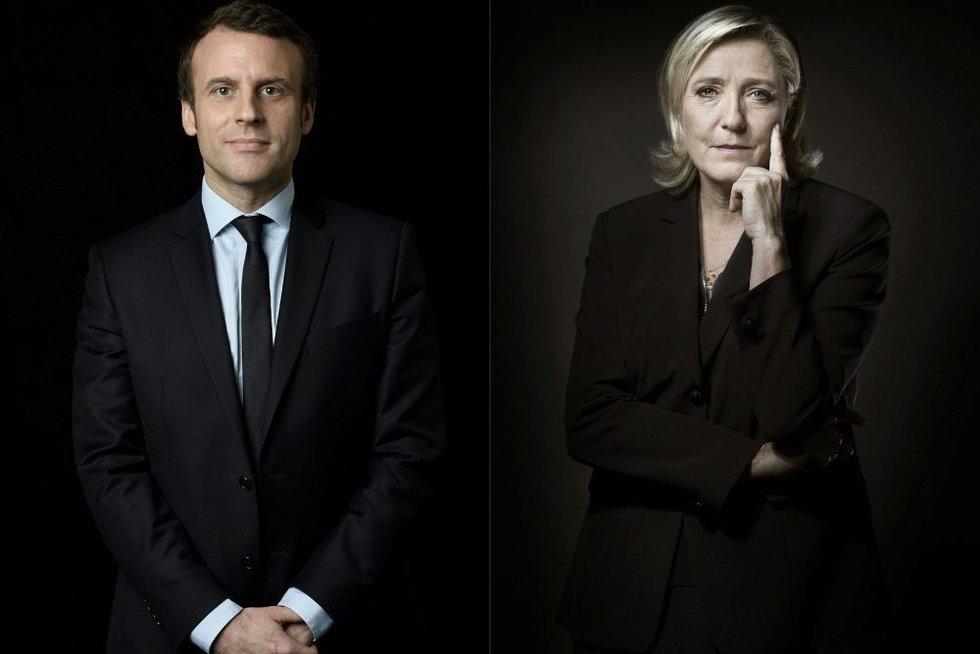 Prancūzija renkasi pokyčius: prezidentu taps netradicinių partijų kandidatas (nuotr. SCANPIX)