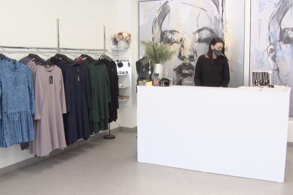 Parduotuvė (nuotr. stop kadras)