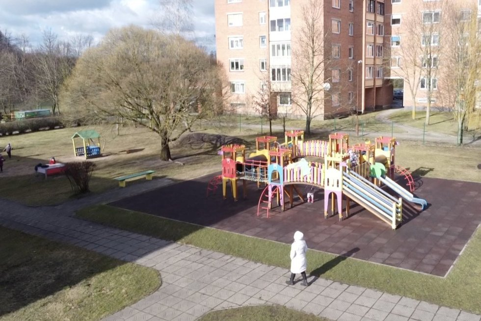 Žaidimų aikštelė (nuotr. stop kadras)
