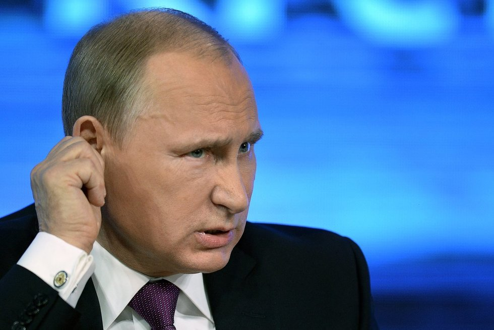 """""""Žudiko Putino"""" vietoje pokalbio laukia nemalonumai: žada ne tik sankcijas, bet ir nematomą poveikį (nuotr. SCANPIX)"""