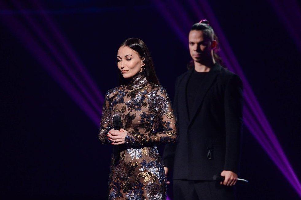 Karina Krysko ir Jeronimas Milius (V. Domkutės nuotr./Fotodiena)
