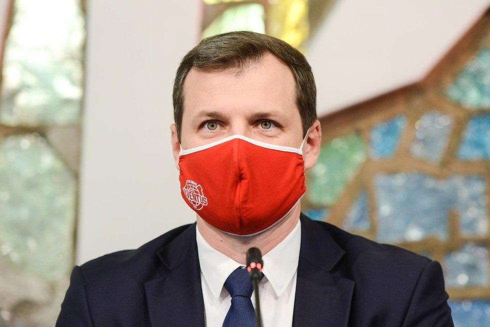 Rytas po rinkimų – socialdemokratų spaudos konferencija (nuotr. Justinas Auškelis/Fotodiena)