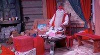 Kalėdų Senelis (nuotr. stop kadras)