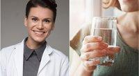 Gydytoja paneigė mitą apie vandens gėrimą  (Nuotr. tv3.lt fotomontažas)