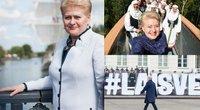 Lietuvos Respublikos Prezidentė Dalia Grybauskaitė (TV3 koliažas)