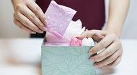 Moterų higienos prekės (nuotr. Shutterstock.com)