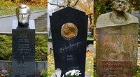 Žinomų žmonių kapai (nuotr. tv3.lt)
