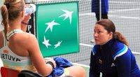 Lietuvos moterų teniso rinktinė pradės lemiamas kovas. (nuotr. Organizatorių)