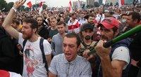 Baltarusijoje nesiliauja protestai (nuotr. SCANPIX)
