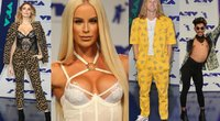 Stiliaus kritikai neteko žado: prasčiausiai apsirengę MTV apdovanojimų svečiai (nuotr. Vida Press)