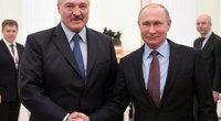 A. Lukašenka ir V. Putinas (nuotr. SCANPIX)