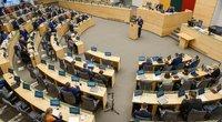 Seimas apsisprendė dėl nuotolinio darbo (nuotr. Fotodiena/Justinas Auškelis)
