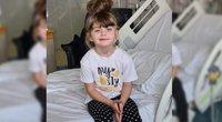 Penkiametė mergaitė, serganti nepagydomu vėžiu, tikisi, kad išsipildys jos svajonė – mergaitės tėvai renka lėšas, kad galėtų ją nuvežti į Disneilendą susitikti su jos filmukų herojais (nuotr. facebook.com)