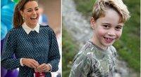 Kate Middleton ir princas George'as (tv3.lt fotomontažas)